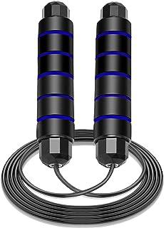 Cuerda de saltar elegante YAY para adultos Fitness cardiovascular, resistencia y entrenamiento de velocidad, longitud ajus...