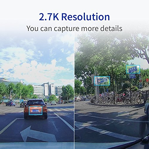 YI 2.7K Ultra Dash Cam with 2.7