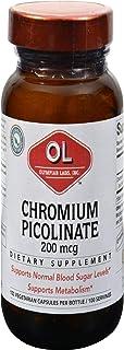 Olympian Labs Chromium Picolinate Chromax, 200 mcg- 100 caps