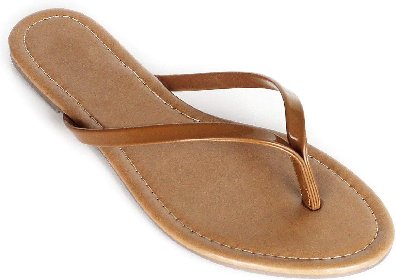Women's Summer Flat Flip Flops Slip On Sandals shoes