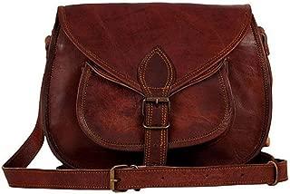 Genuine Leather Purse Shoulder Sling hobo Bag CrossBody Satchel Ladies Tote Travel Handmade Purse 13 inch Vintage Brown Women