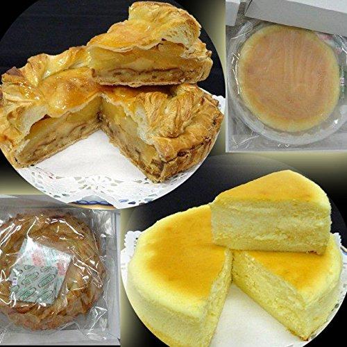 りんごたっぷり アップルパイと濃厚チーズケーキの人気セット 5号 ケーキ