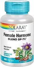 Solaray Female Hormone Blend SP-7C | Herbal Blend Includes Black Cohosh, Dong Quai, Passion Flower, Saw Palmetto, Wild Yam & More | 180 VegCaps