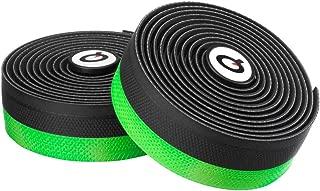 Prologo Onetouch 2 Gel Handlebar Tape Grips & Tape - Black/Green - Gel