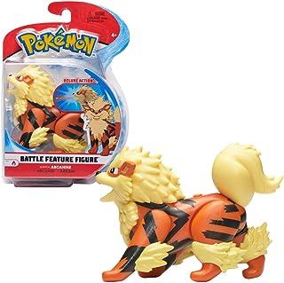 Pokémon Battle Figure Arcanine 4.5 Inches, Multi Color, PKW0009