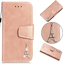 iPhone 6S Case, iPhone 6 Case,ZERMU Diamond Tower Pattern Premium PU Leather [Wrist Strap] [Kickstand Feature] Flip Leather Wallet Case with ID and Credit Card Pockets for iPhone 6S/ iPhone 6 4.7