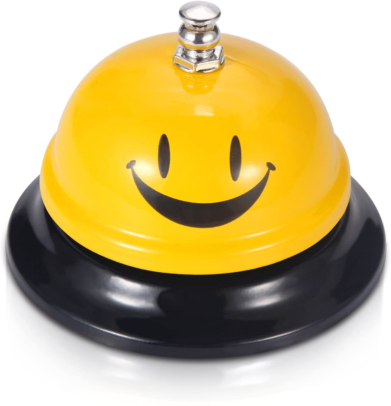 EMDMAK Call Bell, Service Bell for The Porter Kitchen Restaurant Bar Classic Concierge Hotel (3.3 Inch Diameter) (Yellow A) : Office Products