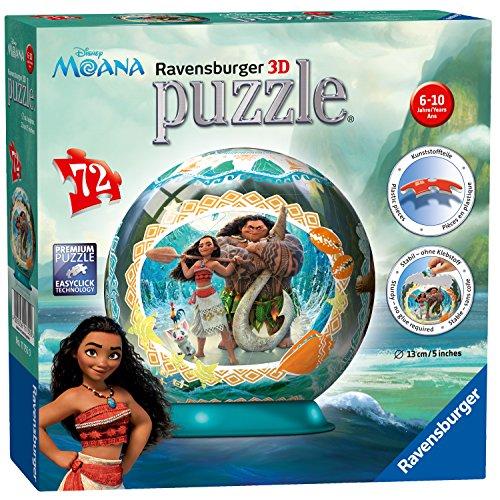 Ravensburger Disney Moana, 72pc 3D Jigsaw Puzzle