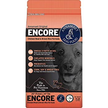 Amazon Com Annamaet 25 Encore Dog Food 40 Lb Pet Supplies
