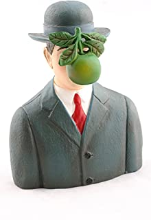 Pocket Art Son of Man with Apple by Magritte Mini Statue PA17MAG Parastone