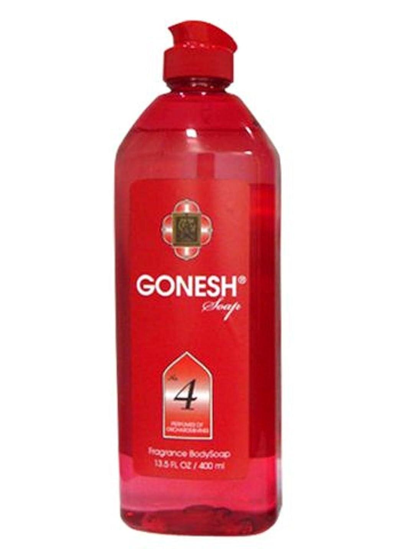 語火傷パンダGONESH Body Soap NO.4 400ml