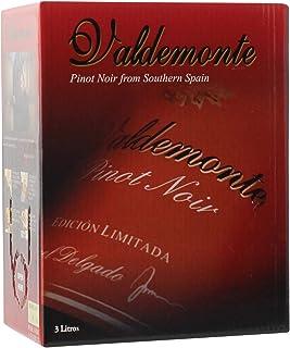 箱ワイン バルデモンテ ピノノワール レッド 3L スペイン 赤ワイン 辛口ボックスワイン BOX BIB バッグインボックス 大容量 ワイン ワインギフト ワインレッド