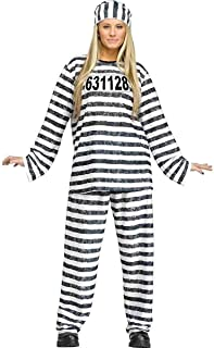 Adult Jailhouse Honey Halloween Costume - Adult Std.