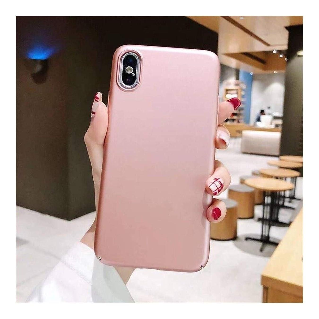 執着実装する家族CHINOU スマホケース for Iphone 11/XS MAS/X/XS/8/7/8P/7P/6/6S 携帯ケース カバー 落下防止 シンプル (Color : ピンク, Size : Iphone6/6S)