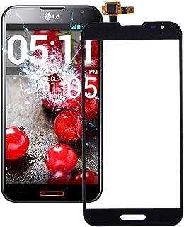 GzPuluz Touch Panel New Touch Panel Digitizer for LG Optimus G Pro / F240 / E980 /E985 / E988(Black) (Color : Black)