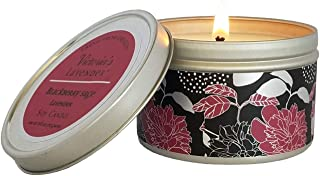 Victoria's Lavender Luxury Scented Candles | Essential Oil Soy Wax Aromatherapy Candle (Blackberry Sage/Lavender)