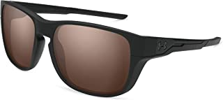 Under Armour Ua Pulse Square Sunglasses Black 57 mm