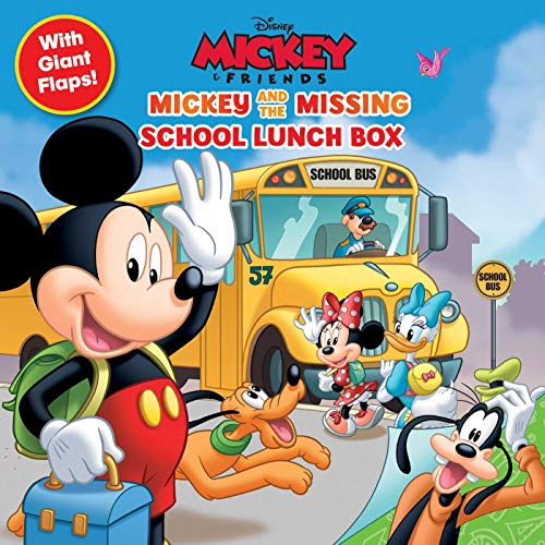 Disney: Mickey and the Missing School Lunch Box (8x8 with Flaps)