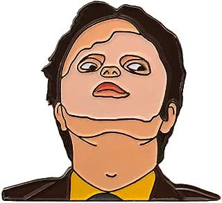 Dwight Schrute Mask Enamel Pin Rainn Wilson Pin