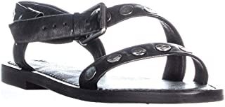 Frye Womens Morgan Hammered Stud Sandal Open Toe Casual Slingback Sandals