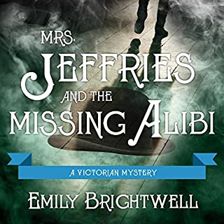 Mrs. Jeffries and the Missing Alibi audiobook cover art