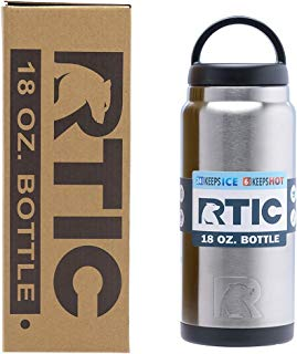 RTIC 18oz Bottle are Stainless Steel, Double Wall Vacuum Insulated