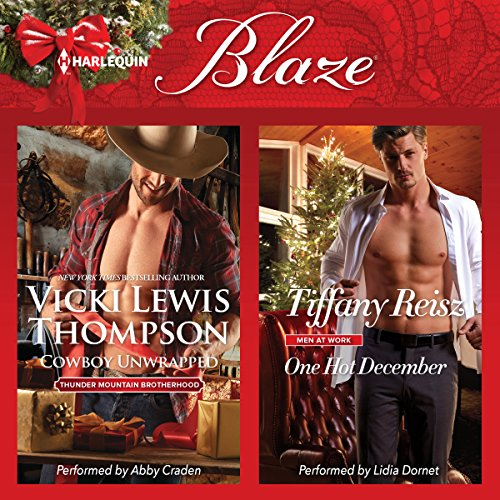 Cowboy Unwrapped & One Hot December audiobook cover art