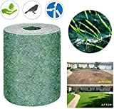 Grass Seed Mat Roll, Biodegradable Grass Grow Mat Lawn Planting Mat Fertilizer Grass