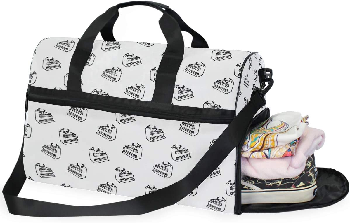 Duffle Bag Minneapolis Mall Seamless Pattern Camouflage Sport Duffe Inexpensive Gym Large