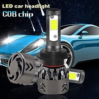 H7 LED auto faro lampadine conversione kit COB Chips 80W 10000LM per coppia Lampadine H7 LED 6000K bianco freddo