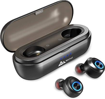 WeCool Moonwalk TWS Earbuds Wireless Earpods, In ear Wireless Bluetooth Earpods , Wireless Earbuds, True Wireless Earbuds with Charging Box , Earpods Wireless with 50 Hours of Play Time, Bluetooth Earbuds with IPX6 Waterproof , Bluetooth 5.0 Sports wirele