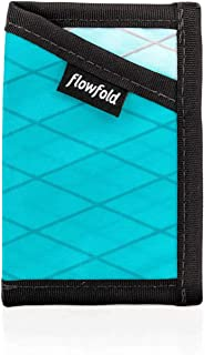 Flowfold Minimalist Slim Front Pocket Card Holder Wallet - Light Weight - Made in the USA