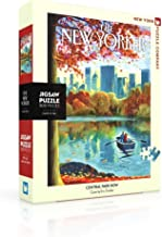 New York Puzzle Company - New Yorker Central Park Row - 500 Piece Jigsaw Puzzle