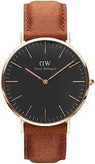 [ダニエル ウェリントン] Daniel Wellington 腕時計 DW00100126 Classic Man 40 mm ブラック Black Durham horloge [並行輸入品] [並行輸入品]