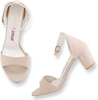 G-collection women and girls casual block heels upper and heels sandal