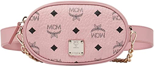 MCM Women's Essential Visetos Original Belt Bag Small