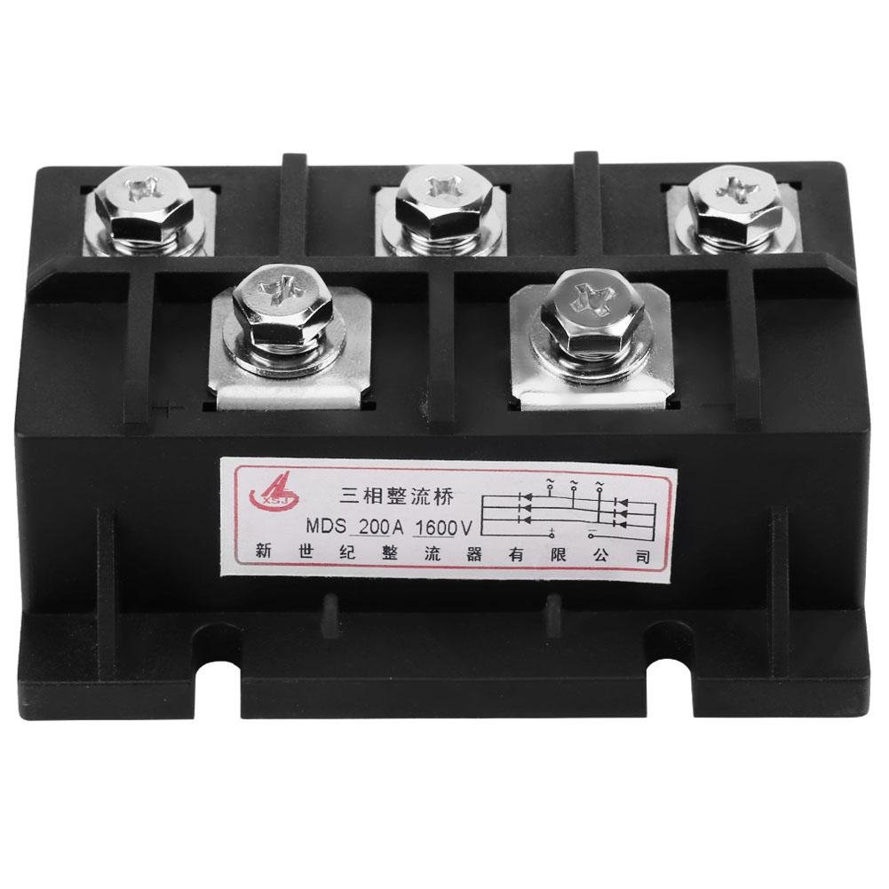 MDS-200A Sales for sale Amp 1600V Three-Phase Diode Rectifier Module security Pow Bridge