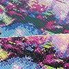 MXJSUA 5D Diamant Peinture Pleine Ronde perceuse Kits collé Arts Artisanat Maison décoration Murale Chat oscillant 30x30 cm #5