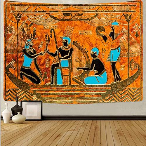 N/A Impresión De Tapices 3D Tapiz De Pared De Decoración Egipcia Mandala Manta para Colgar En La Pared Dormitorio Tapis Tapiserie