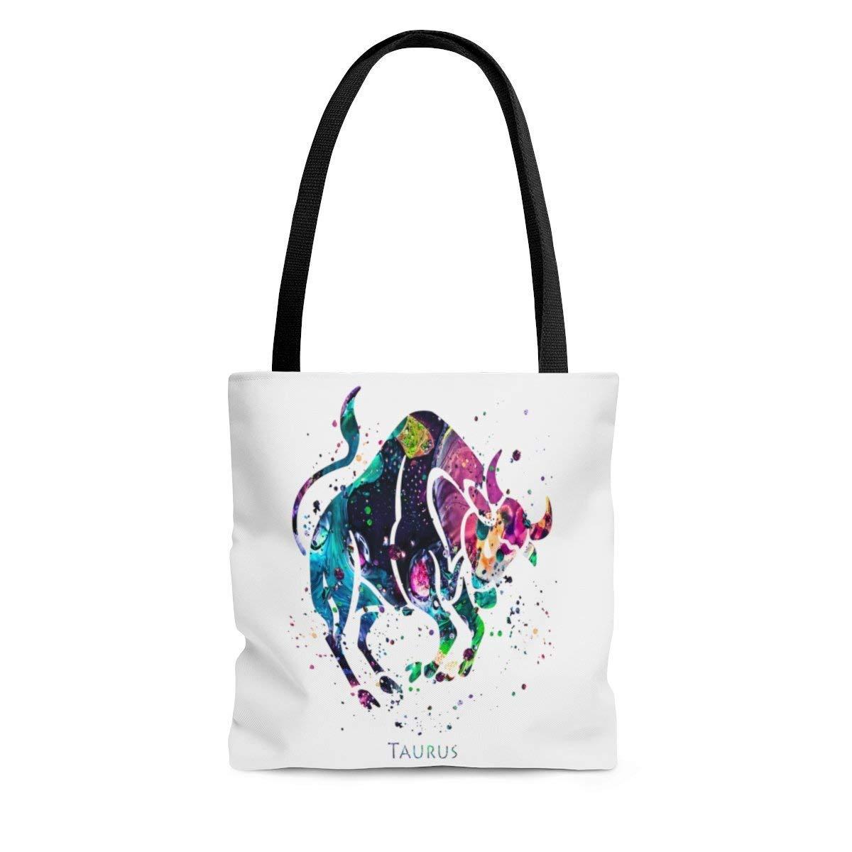 Taurus Zodiac Sign Max 79% OFF Tote Beach Books Bombing new work Bag