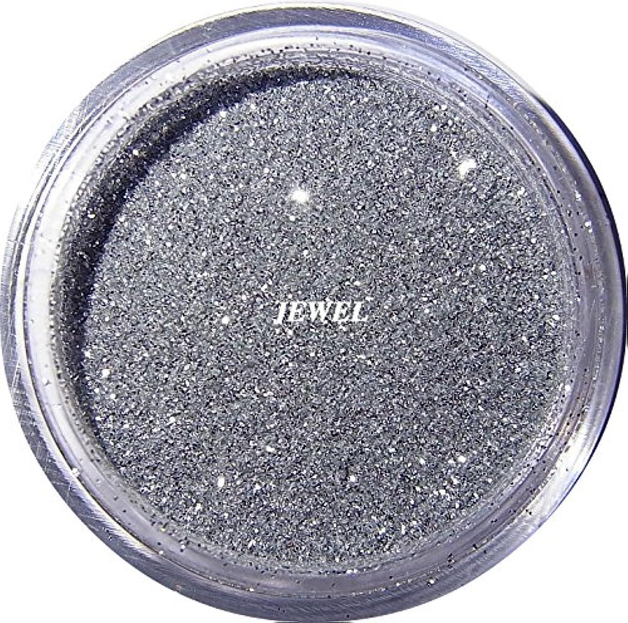 初期用心深い落ち着いて【jewel】 超微粒子ラメパウダー(銀/シルバー) 256/1サイズ 2g入り レジン&ネイル用 グリッター