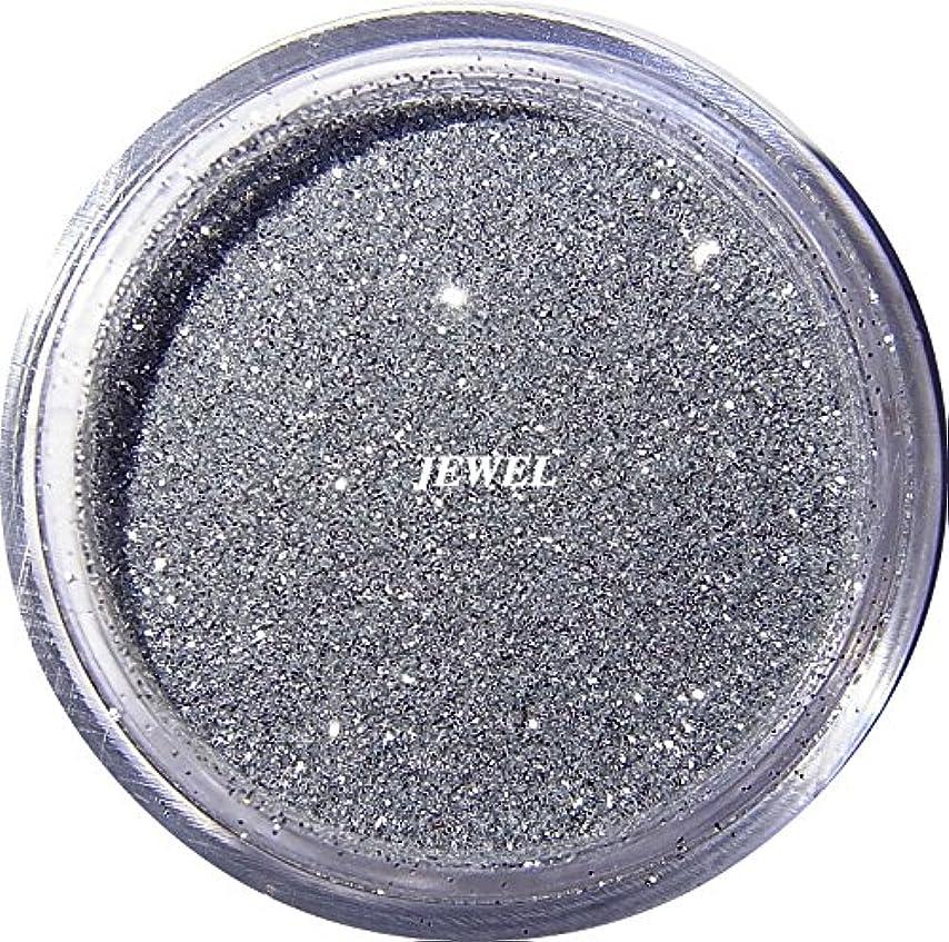熟す熟練したワーカー【jewel】 超微粒子ラメパウダー(銀/シルバー) 256/1サイズ 2g入り レジン&ネイル用 グリッター