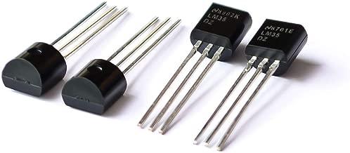TD-ELECTRO 10PCS/LOT LM35DZ TO-92 LM35 LM35D Precision Centigrade Temperature Sensors (Original)