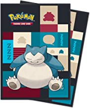 Ultra Pro 85525 Sleeves Standard Pokemon Snorlax Deck Protectors, Multi-Colour