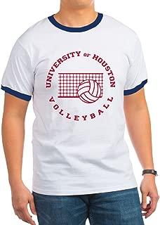 CafePress - University of Houston Volleyball - Ringer T-Shirt, 100% Cotton Ringed T-Shirt, Vintage Shirt