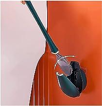 Qjkmgd Siliconen waterdruppel toiletborstel met toiletborstelhouder, automatische opening en sluitende reinigingsborstelse...