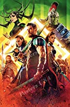 "Posters USA Marvel Thor Ragnarok Textless Movie Poster GLOSSY FINISH - FIL695 (24"" x 36"" (61cm x 91.5cm))"