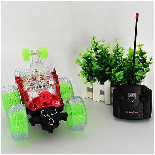 FairOnly Mini RC Télécomhommede de Voiture Voiture Voiture Monster Camion Radio électrique Danse Voiture rougeative Voiture avec Lumière et Musique