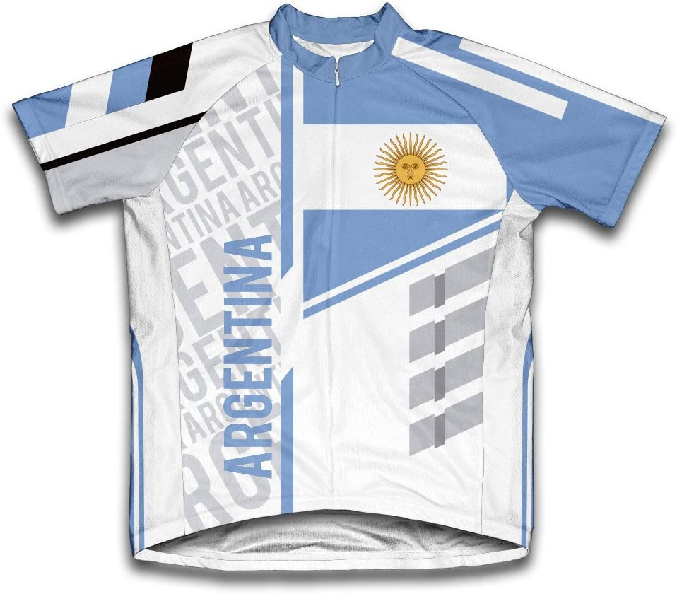 ScudoPro Argentina Short Sleeve National products for Jersey Men Cycling All items in the store