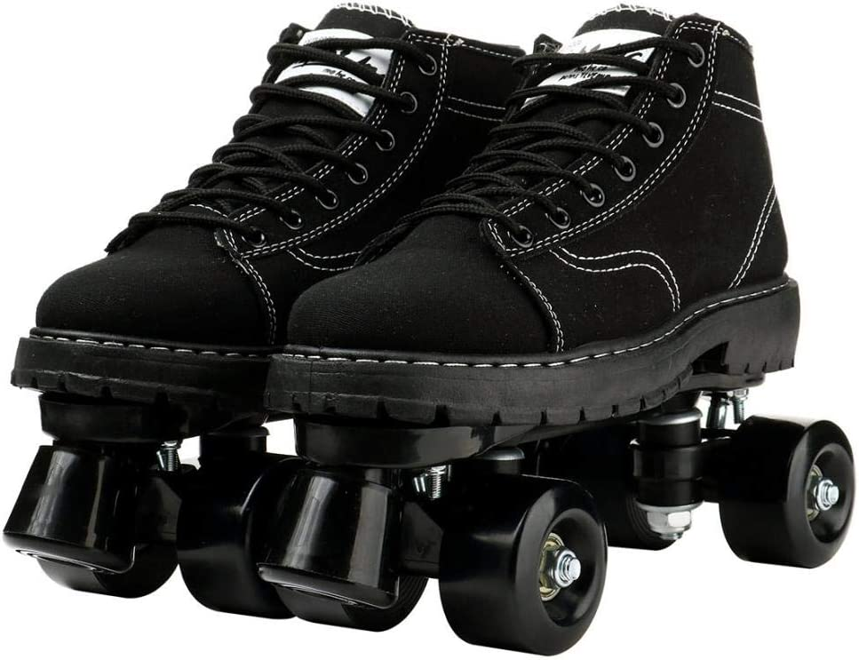 Super sale period limited LEAFIS Beuway Womens Roller Skates Outdoor Shoes Four-Wheel Roll Austin Mall